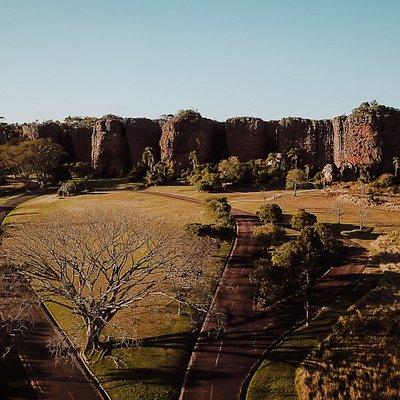 Entrada do Parque Vila Velha - Preserve essa experiência.