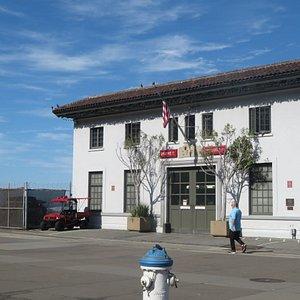 Fireboat House, San Francisco CA