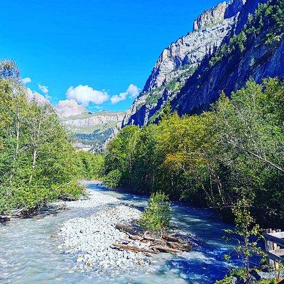 Schöner Fluss im Gasterntal