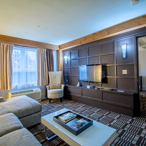 Haven Suite is designed to be a mix of urban, industrial-modern within the setting of a fishing