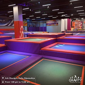 Awesome trampoline time with different games inside that will get you to have fun like no other place 🤩