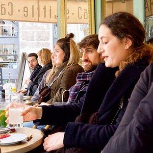 Cafe in Le Marais
