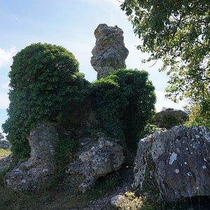 Grausne norra raukområde, Lickershamn, Gotland
