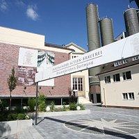 Seitenansicht des Brauerei-Museums Dortmund.