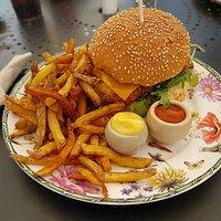 burger poisson frais