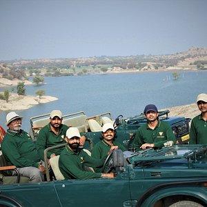 Field Team of Jawai Safaris
