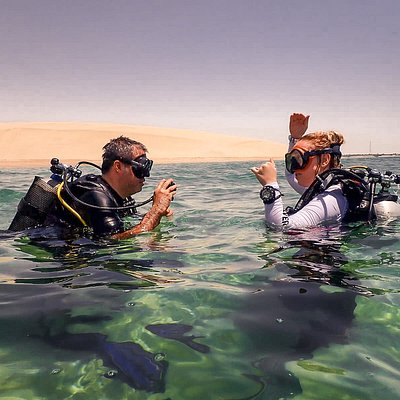Take your first breath underwater with Nomadik Hub Diving Center - Try a PADI Discover Scuba Diving