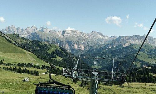 La seggiovia Gran Paradiso e lo spettacolo delle Montagne