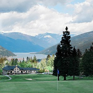 Clubhouse view from Hole 1