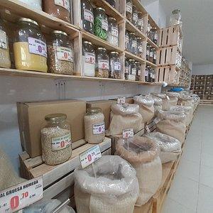 Totdas variedades de pastas y macarrones y integrales