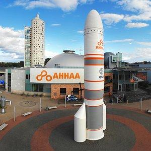 AHHAA Science Centre panorama