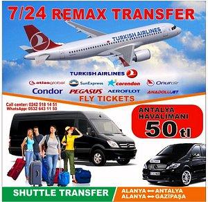 Alanya Tüm Bölgelerden Antalya Havalianı Transfer Hizmeti
