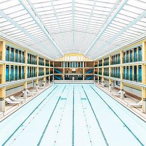 Notre bassin d'hiver - piscine intérieure chauffée