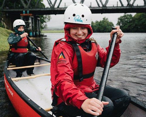 Canoe Adventure from Edinburgh with MY Adventure.