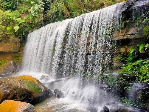 Hidden Waterfall in Jungle