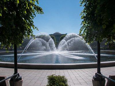 Sculpture Garden Fountain