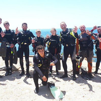 dive club making some dives in cabo de palos!