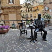 Statua Andrea Camilleri