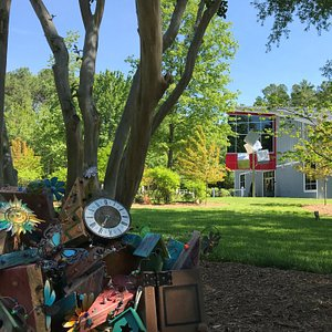 Each summer at Annmarie Garden visitors can search for hidden fairy and gnome houses!