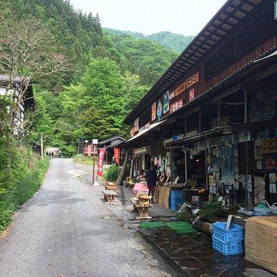 福地温泉朝市は野菜山菜果物きのこお米などを販売しています 年中無休