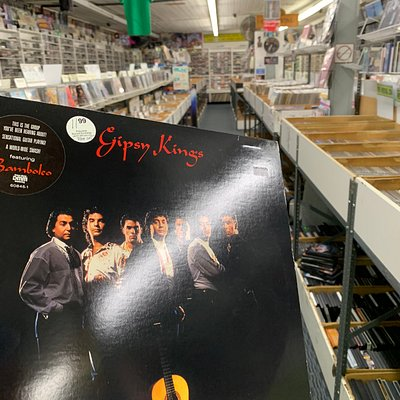 Record shopping at the exchange