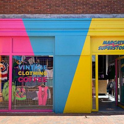 Margate Superstore Vintage clothing shop
