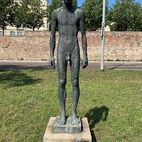 Gelungene Statue