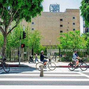 Spring Street Bike Lanes