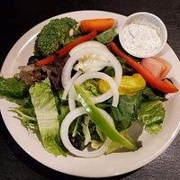 Mixed-greens salad
