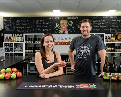 Join owners Josh and Zoe at the tasting bar.