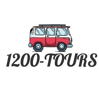 1200 Tours