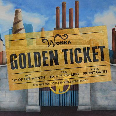 The most delicious escape room is in town! #goldenticket