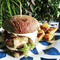 Mushroom Burger 🍔
