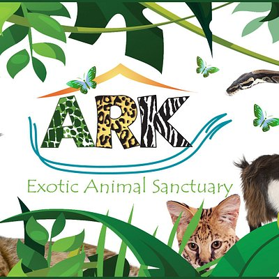 Ark exotic animal sanctuary logo
