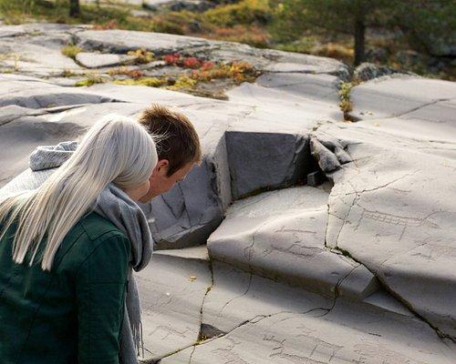 The Unesco site Rock art of Alta at Alta Museum