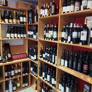 Super Weinauswahl