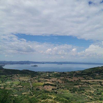La vista dal Belvedere