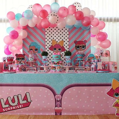themed party table