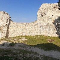 A vár felső udvara