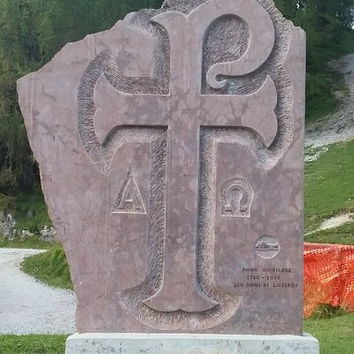 Cammino celeste qui è l'ultima tappa del pellegrinaggio che bisognerebbe fare a piedi, sono più di duecento chilometri....