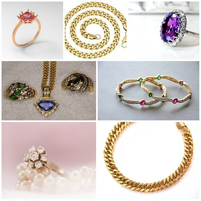 Recent gold jewellery we have bought