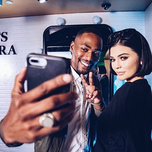 Selfie with Kylie Jenner? Check!