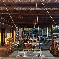 La terrazza del ristorante
