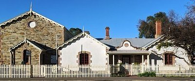 the old Police Station and Courthouse in Strathalbyn is the local heritage museum and home to the National Trust branch of Strathalbyn