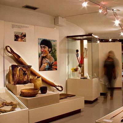 Etnographic hall (Brazil, Amazon)