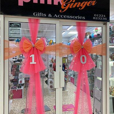 Pink Ginger inside Tesco, Danestone
