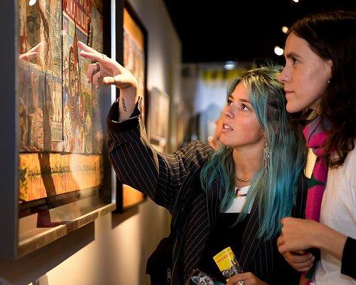 De opening van de tentoonstelling WOEST - Willem van Genk. Foto: Melanie Lemahieu