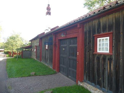 Karlfeldtgården Sångs i Sjugare by utanför Leksand