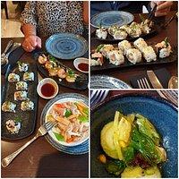 Wat een heerlijke sushi