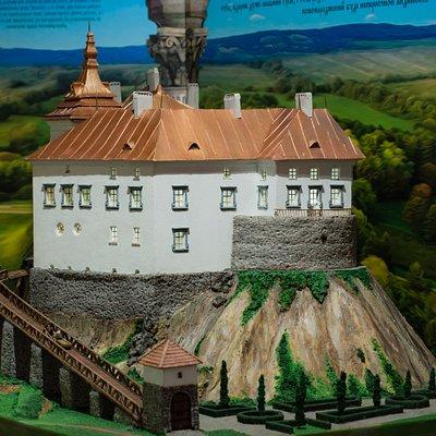 Model of Olesky Castle